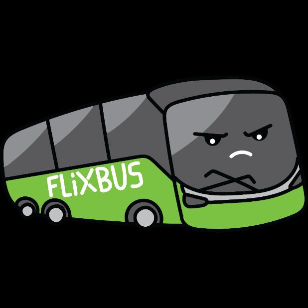 FlixBus: Smart Bus Travel messages sticker-4