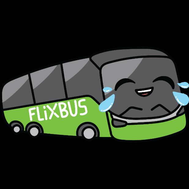 FlixBus: Smart Bus Travel messages sticker-2