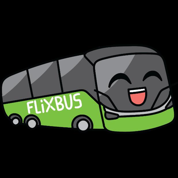 FlixBus: Smart Bus Travel messages sticker-1