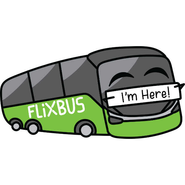 FlixBus: Smart Bus Travel messages sticker-9