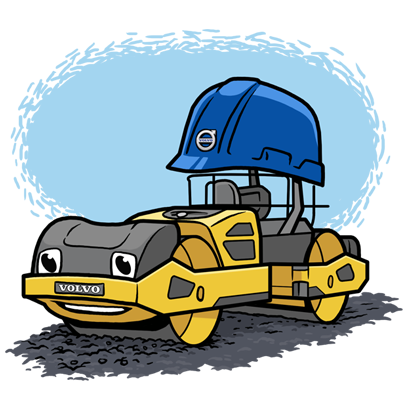 Volvo CE Insider messages sticker-4