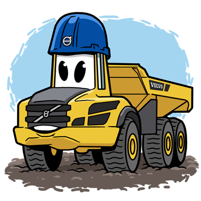 Volvo CE Insider messages sticker-7