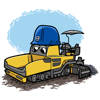Volvo CE Insider messages sticker-9