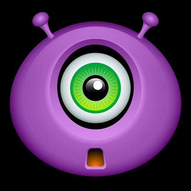 Purple Monsters messages sticker-3