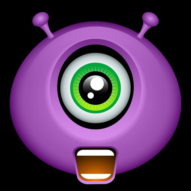 Purple Monsters messages sticker-8