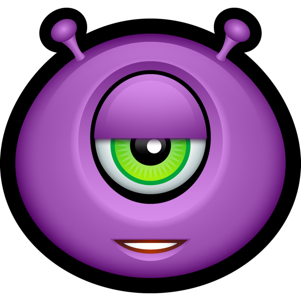 Purple Monsters messages sticker-5