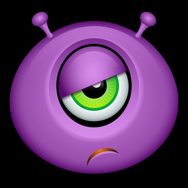 Purple Monsters messages sticker-0