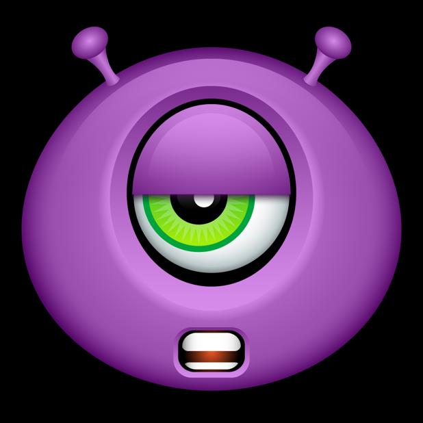 Purple Monsters messages sticker-6