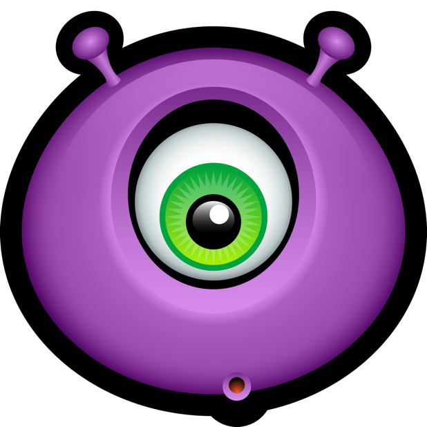 Purple Monsters messages sticker-9