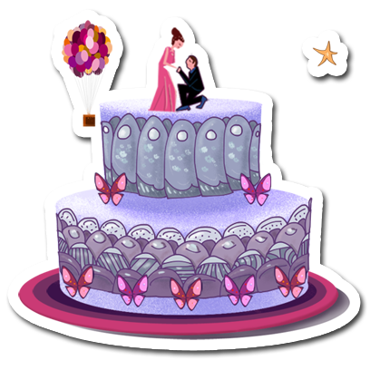 Make a Cake - Cooking Games for kids messages sticker-11