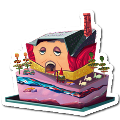 Make a Cake - Cooking Games for kids messages sticker-8