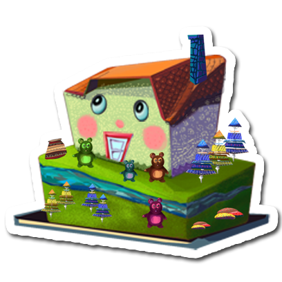 Make a Cake - Cooking Games for kids messages sticker-10