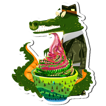 Ice Cream Maker Game - Cooking games messages sticker-4
