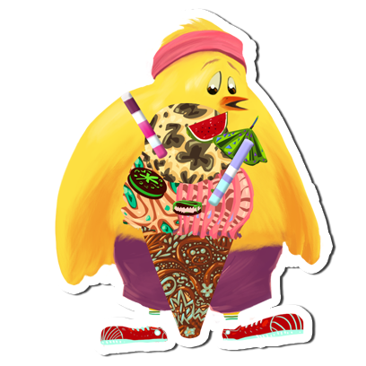 Ice Cream Maker - Cooking games HD messages sticker-2