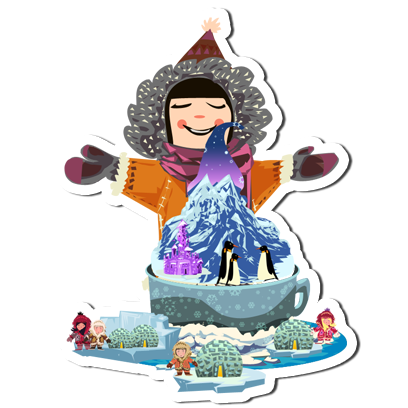 Ice Cream Maker - Cooking games HD messages sticker-10