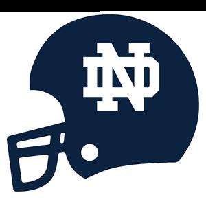 Notre Dame Mobile messages sticker-10