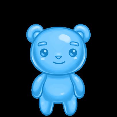Gummy Gush: Match 3 Puzzle messages sticker-0