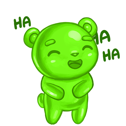Gummy Gush: Match 3 Puzzle messages sticker-2