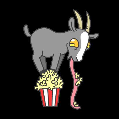 Goat Simulator messages sticker-3