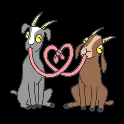 Goat Simulator messages sticker-1