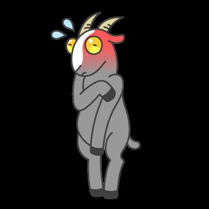 Goat Simulator messages sticker-16