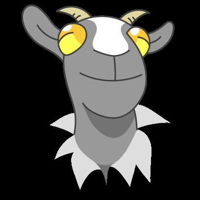 Goat Simulator messages sticker-5