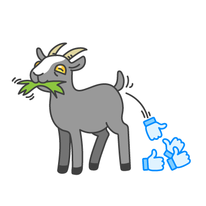 Goat Simulator messages sticker-6