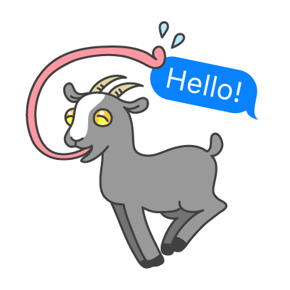Goat Simulator messages sticker-0