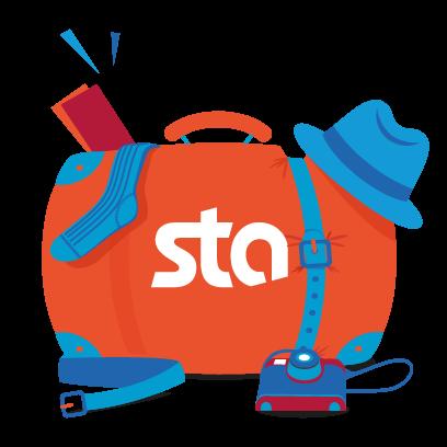 STA Travel-Start The Adventure messages sticker-3