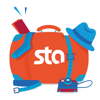 STA Travel-Start The Adventure messages sticker-3