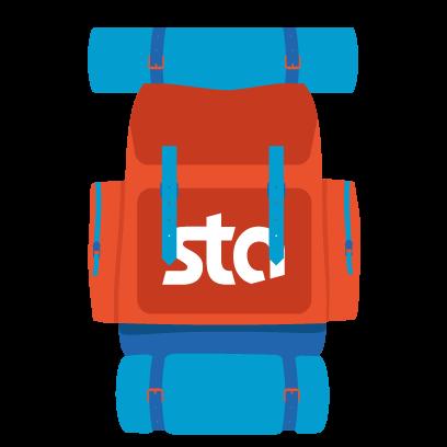 STA Travel-Start The Adventure messages sticker-0