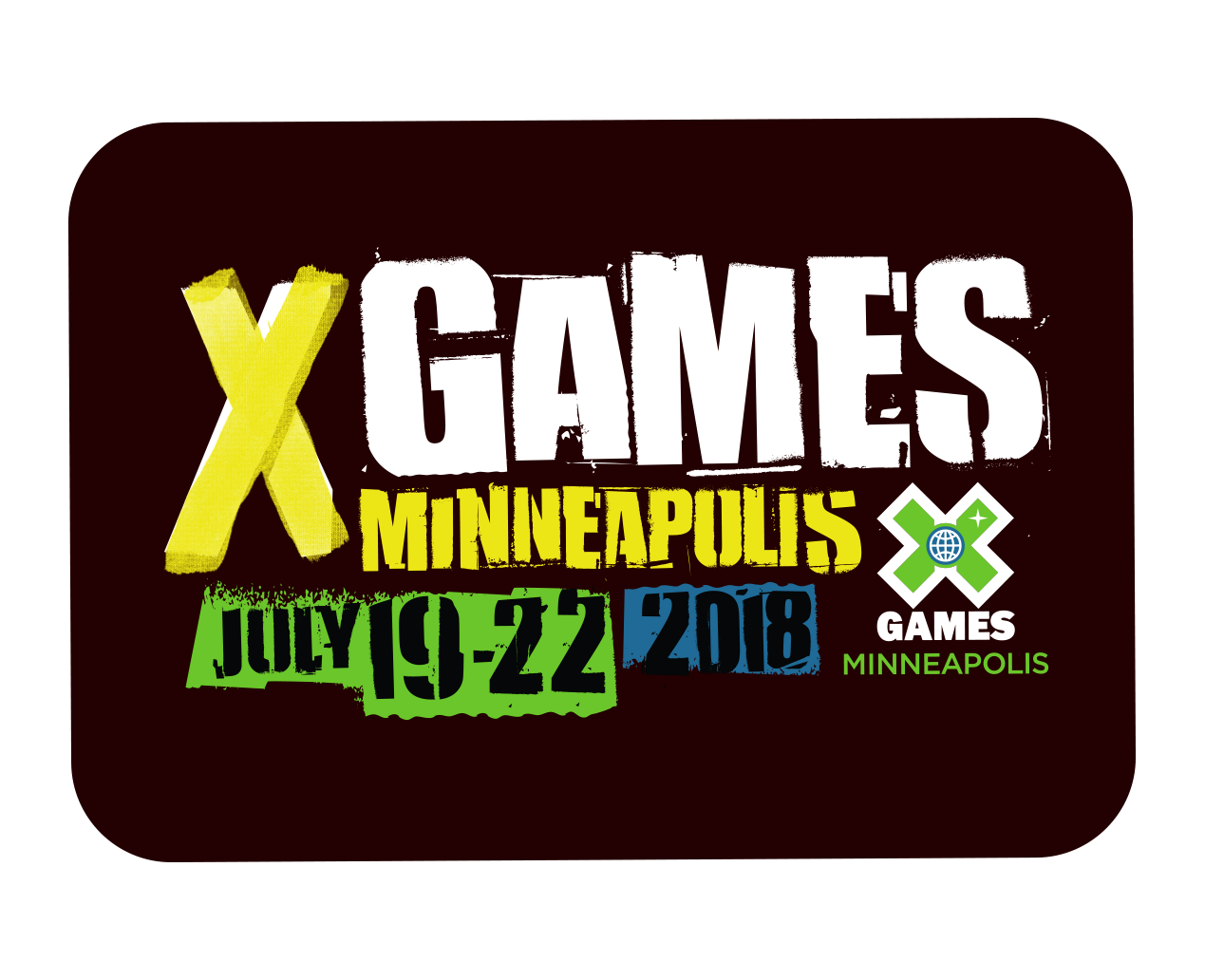 X Games Minneapolis 2019 messages sticker-0