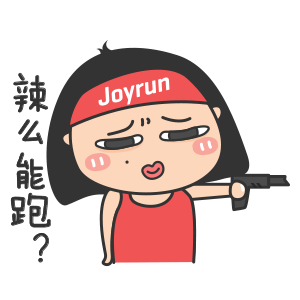Joyrun - Focus on running messages sticker-4