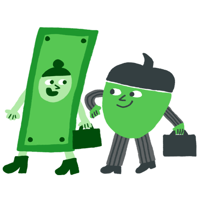 Acorns: Invest Spare Change messages sticker-3
