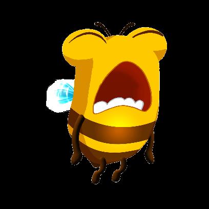 Bee Brilliant messages sticker-6
