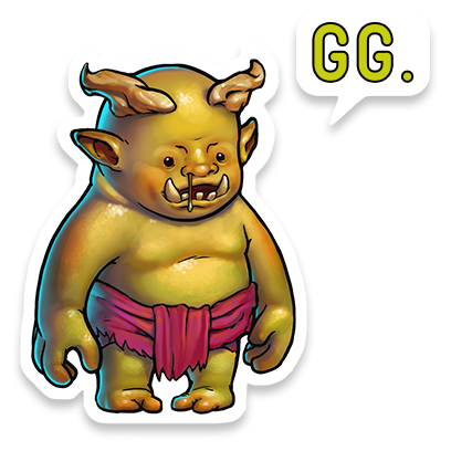Gems of War – Match 3 RPG messages sticker-1