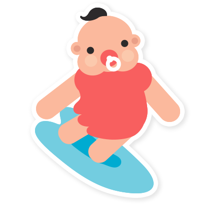 Hello Baby Parenthood messages sticker-3