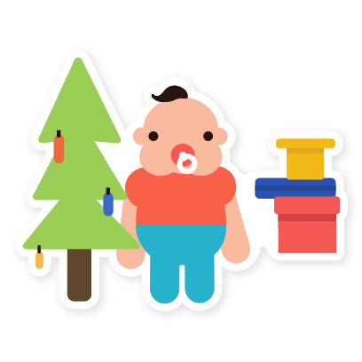 Hello Baby Parenthood messages sticker-7