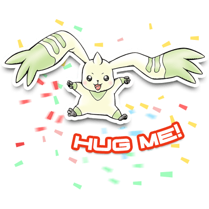 Digimon Heroes! messages sticker-1