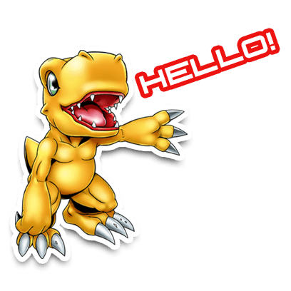 Digimon Heroes! messages sticker-2