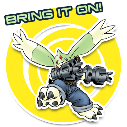 Digimon Heroes! messages sticker-0