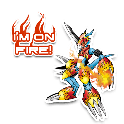 Digimon Heroes! messages sticker-7