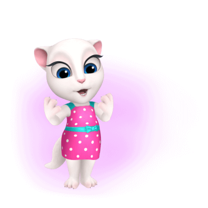 My Talking Angela messages sticker-1
