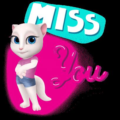 My Talking Angela messages sticker-3