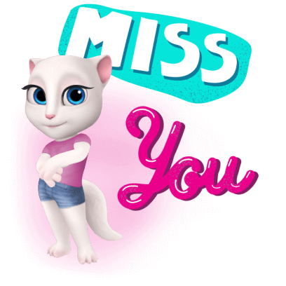 My Talking Angela messages sticker-3