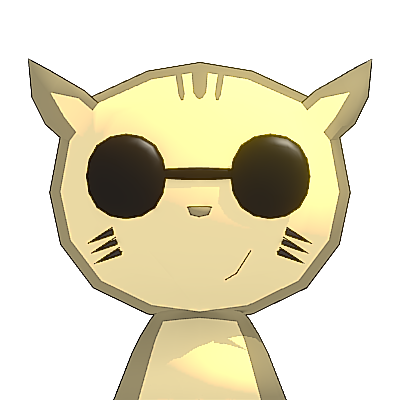 Poncha Cat - cute cat animal messages sticker-5