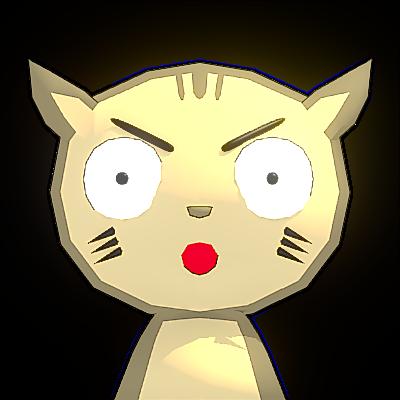 Poncha Cat - cute cat animal messages sticker-1