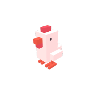 Crossy Road messages sticker-1