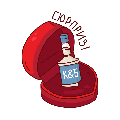 Красное&Белое messages sticker-9