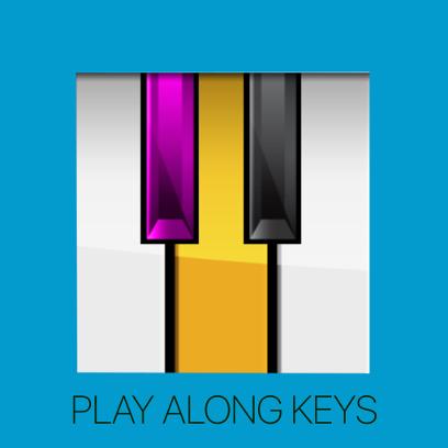 Play Along Keys  piano karaoke messages sticker-0